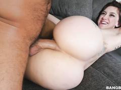 anal, brown-haired, brunette, cum, pornstar, shaved