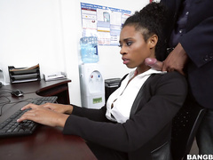 adult movie diva, ebony, office girls, office sex, pornstar, shaved