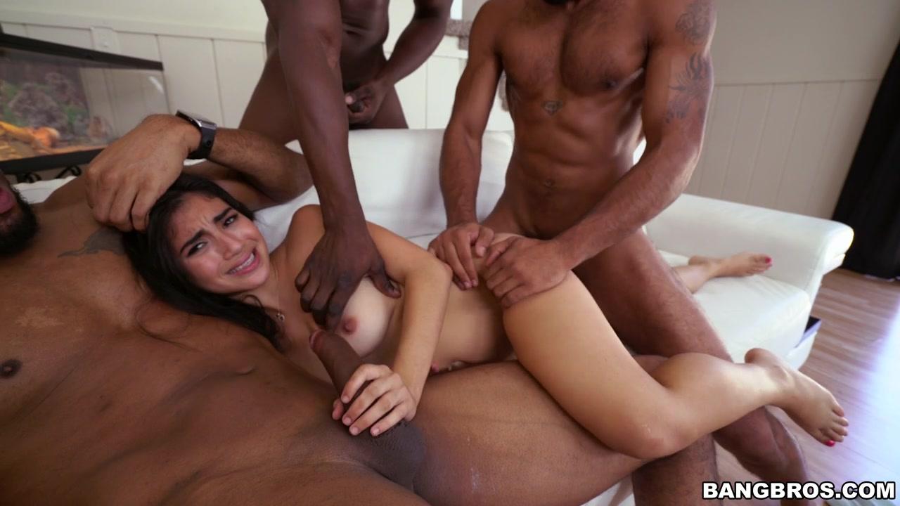 Interracial orgy pics consider, that