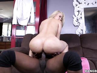 big dick, blond hair, blonde, interracial, milf, mom