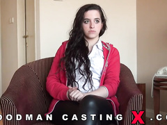 amateur, audition, casting, czech, rough sex
