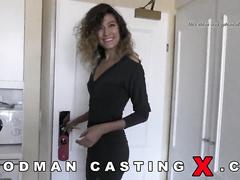 abricotpussy, amateur, casting, rough sex, stockings