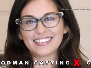 adorable, amateur, casting, glasses, rough sex