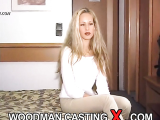 anal hungarian blonde casting