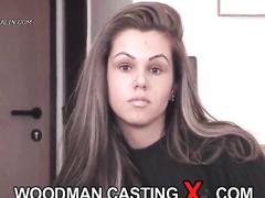 amateur, audition, casting, cumshot, rough sex