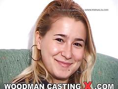 adorable, amateur, blonde, casting, rough sex