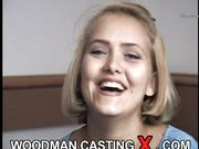 blonde first anal casting