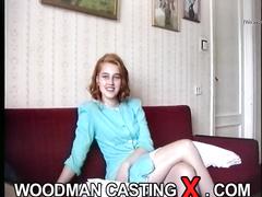 amateur, anal, casting, red head, rough sex
