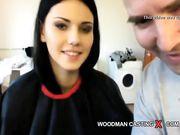 russian czech brunette casting