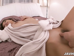 asian, busty, hairy, japanese, milf, pussy licking