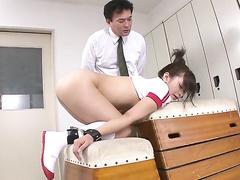 asian, ass insertion, double penetration, hd porn, japanese, school