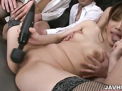 asian, blowjob, cock sucking, japanese, office sex, orgy