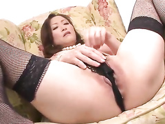 asian, blowjob, busty, japanese, mature, stockings