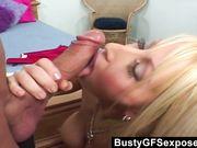 busty horny girlfriend fuck