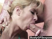 mature amateur girlfriend blowjob