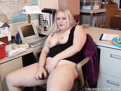bbw, blonde, chubby girls, fat, office girls, pussy