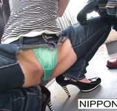 Tight japanese high heels