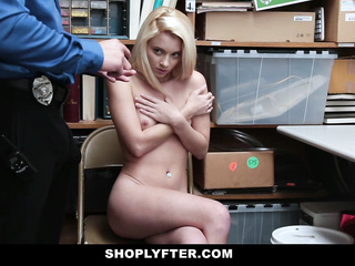 small tits blonde pretends