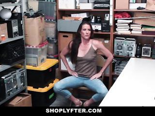 skinny milf fucked store