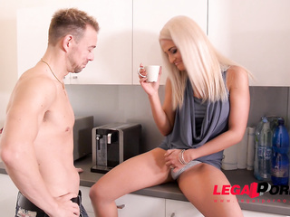 1 on 1, babe, big tits, blonde, czech, shaved