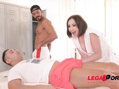 anal, australian, big tits, lingerie, massage, pussy