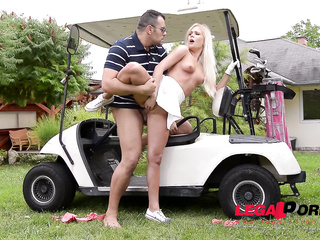 lady golfer fucked the