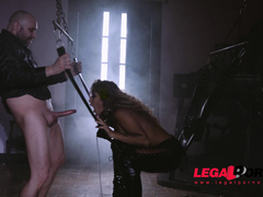 1 on 1, blowjob, bondage, latex, latina, spanking