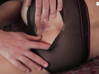 fingered and fucked through