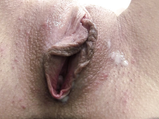 sluttish broad's face full