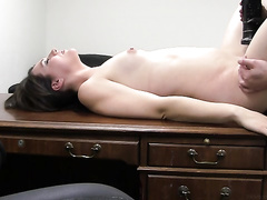 adult modeling, big dick, clothed sex, office sex, petite girls, rough sex