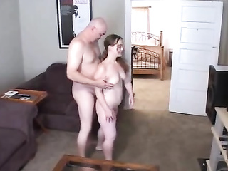 lady cheats with bald