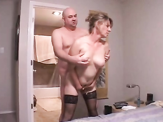 mature hornball fucked the