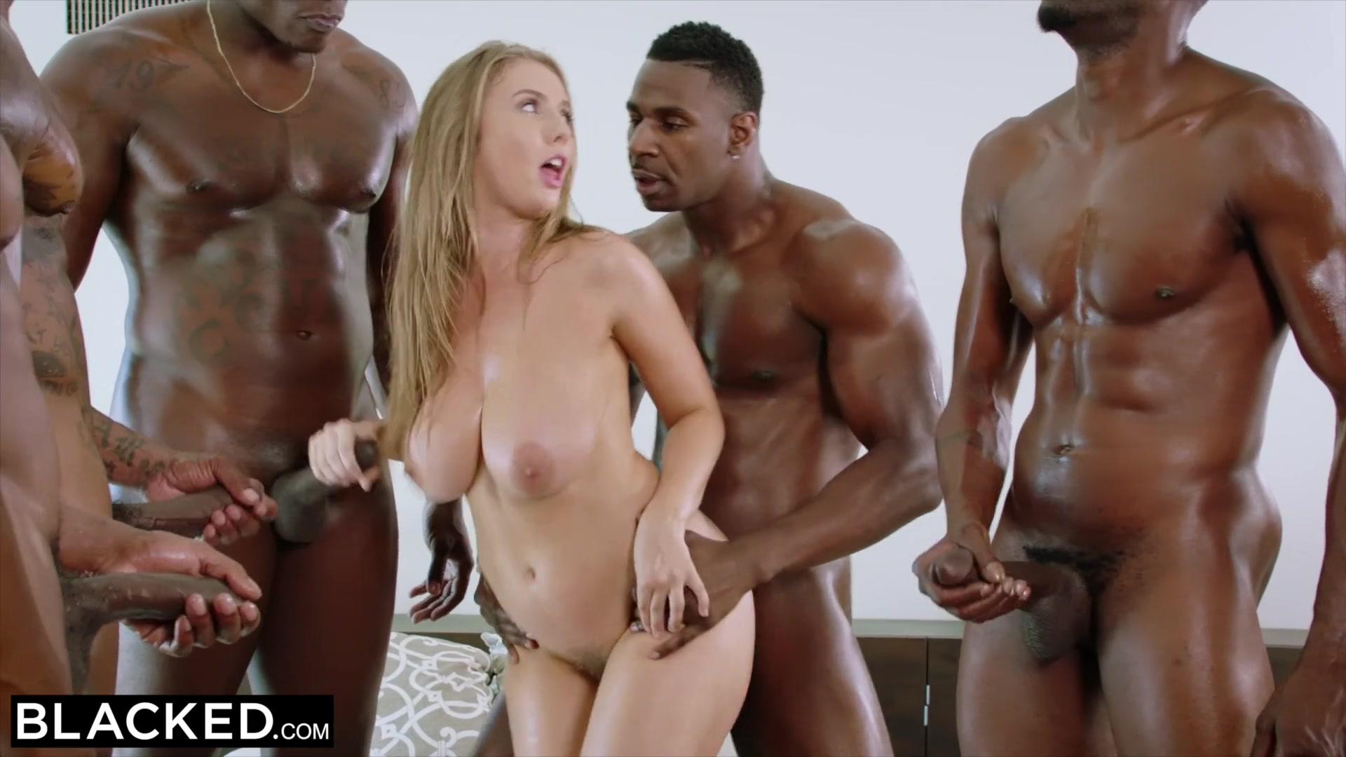 big tit blonde gets blacked