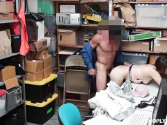 backroom, office sex, seized, uniforms