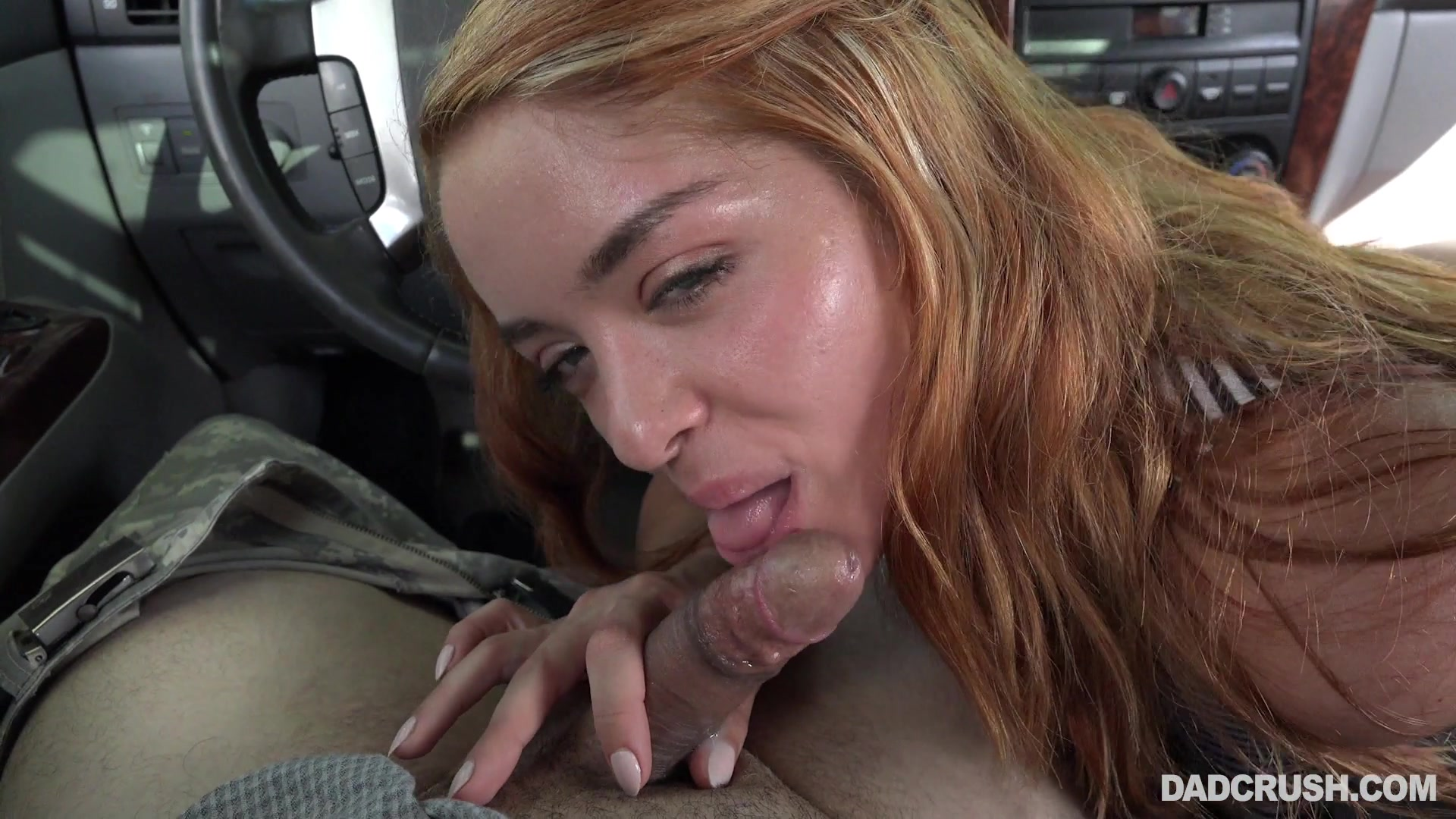 amateur homemade car blowjob