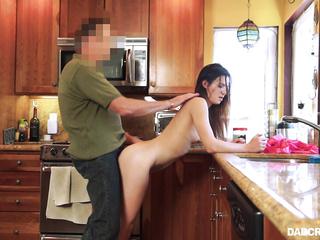 couple fucking kitchen