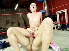 ass licking, bent over, legs, sport, tattoo