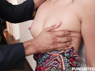 groping tits