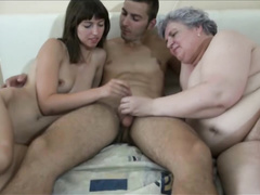 bbw, big dick, fingering, reality, threesome, vintage