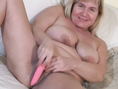 big dick, blowjob, dildo, granny, reality, toys