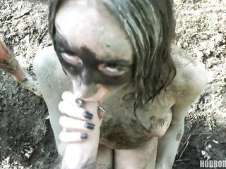 horror porn blowjob