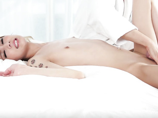 bondage, cock, orgasm, shemale, toys