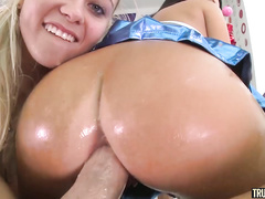 anal, blonde, blowjob, butthole, girlfriend, pussy