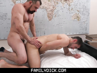 cock, gay, gloryhole, hardcore, step family