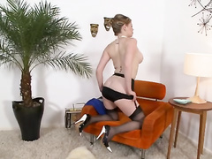 ass, mature, pantyhose, red head, vintage