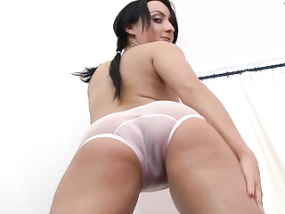 juicy transparent panties ass
