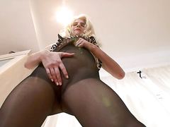 babe, blonde, feet, hardcore, pantyhose, toys