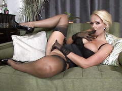 blonde, mature, milf, mom, pantyhose, vintage