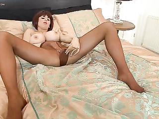 big tits, brunette, busty, feet, hardcore, pantyhose