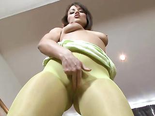 petite girl brunette tits